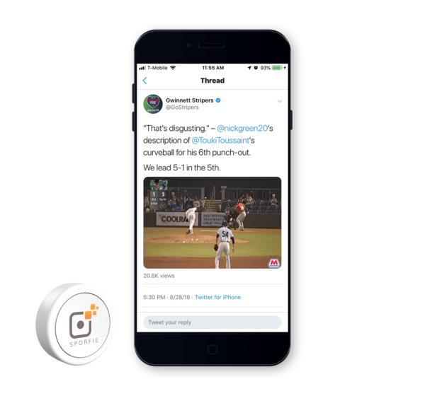 Sporfie Instant Share for Marketers